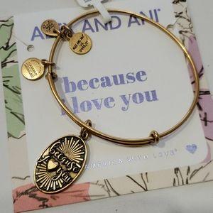 Alex and Ani Because I Love You bracelet